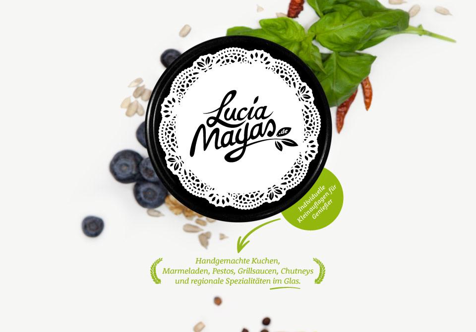 Lucia Mayas   Handgemachte Kuchen Im Glas, Marmeladen, Pestos, Grillsaucen,  Chutneys Und ...